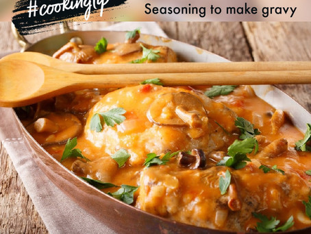 Charcoal Chicken Gravy Made Easy!