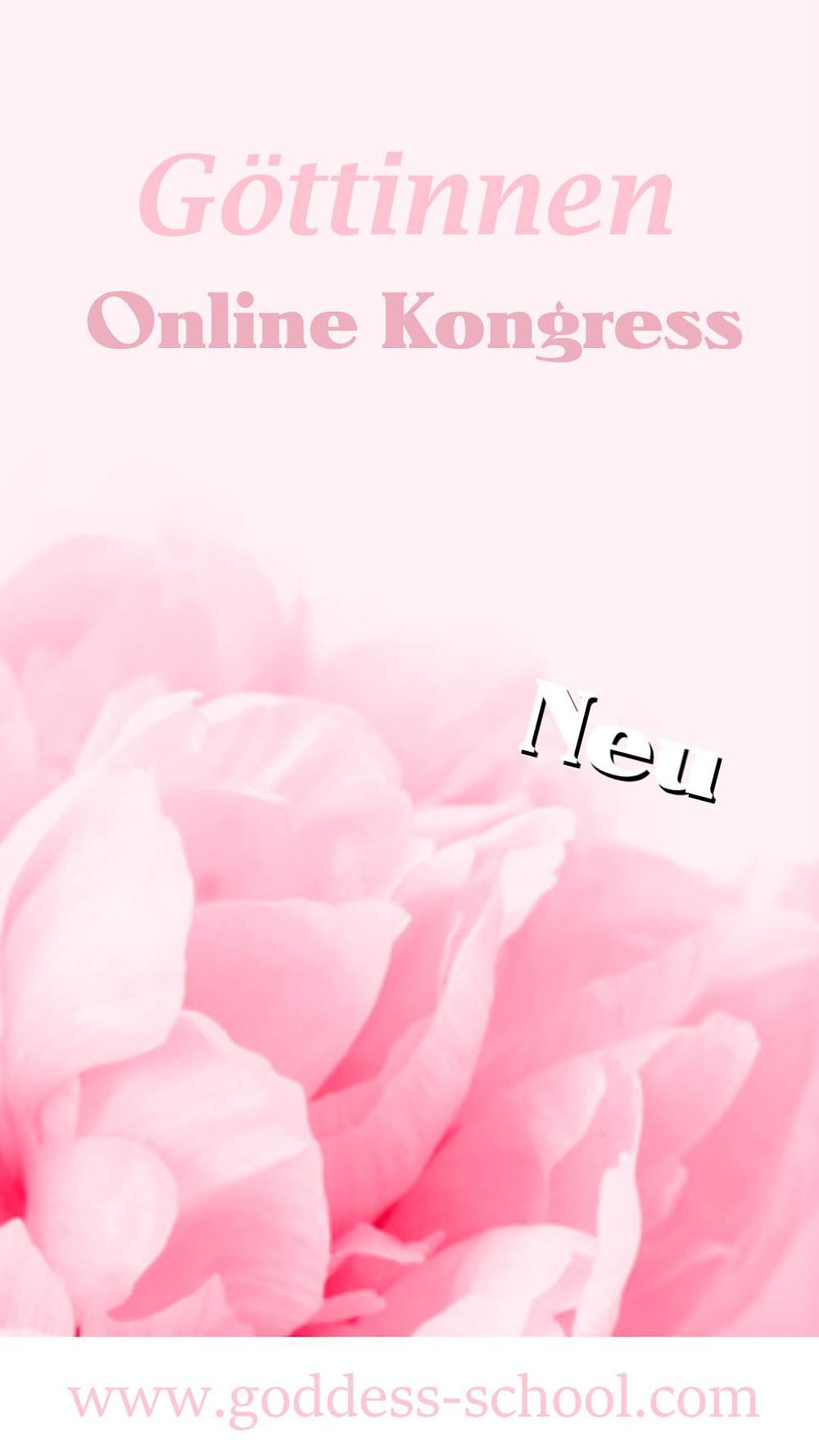 Weiblichkeits Online Kongress im Juli
