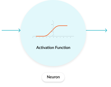 Role of the Activation Function in a Neural Network Model