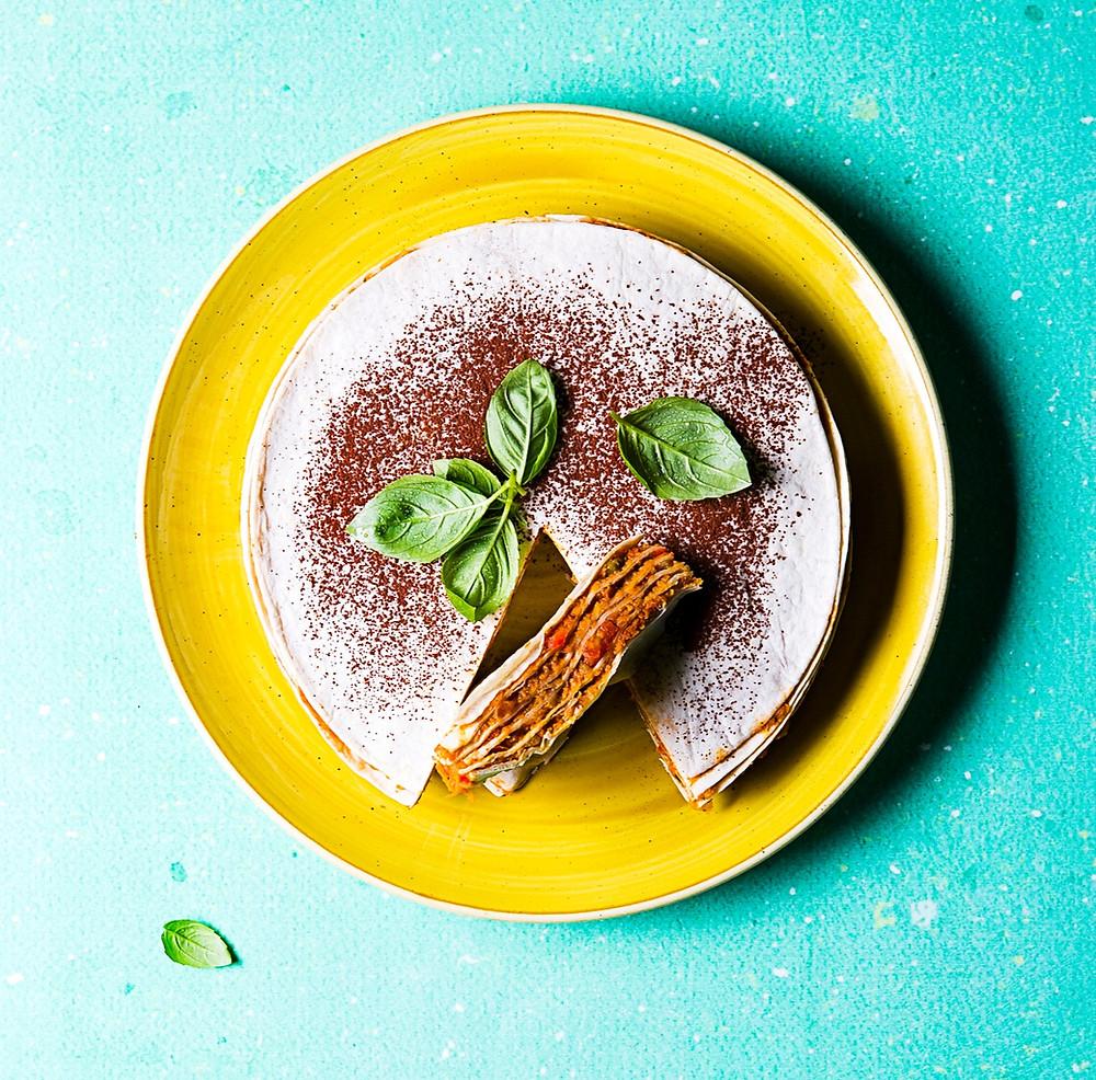 tortilijų pyragas, daržovių pyragas, veganiškas pyragas,  Alfo receptai
