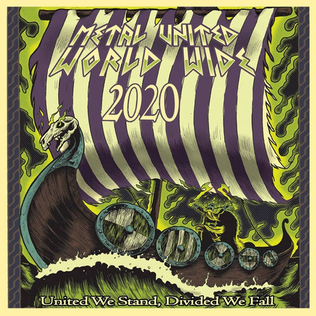 METAL UNITED WORLD WIDE Drops 3 Free Metal Compilations