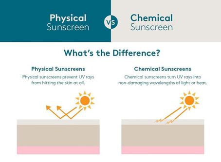 Chemical VS Physical SPF