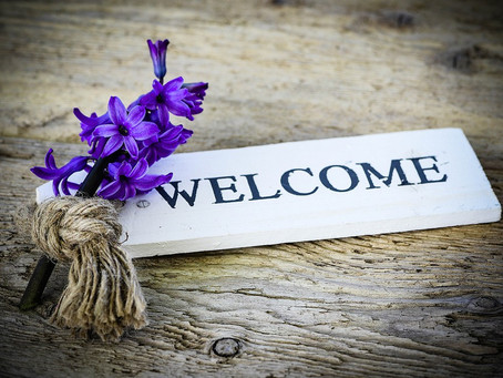 ON BEING WELCOMED