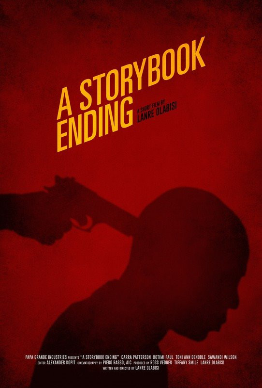 Movie Poster for A Storybook Ending showing actor