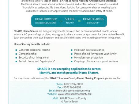 Sonoma County SHARE Program