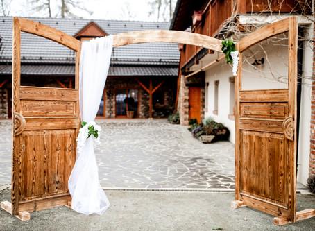 Svatba ve stodole, jak má být!