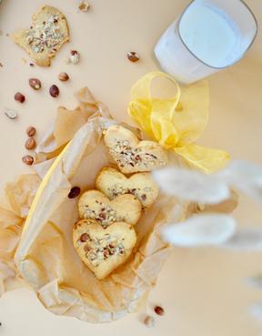 Hazelnut Flourless Shortcrust Cookies