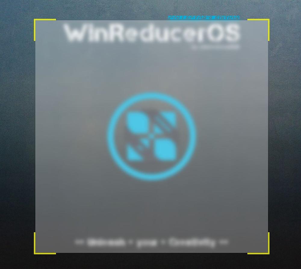 WinRedcuerOS Software GUI Design Page