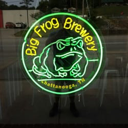 Chattanooga's Big Frog Brewing:  Big Frogs Can Come In Little Packages