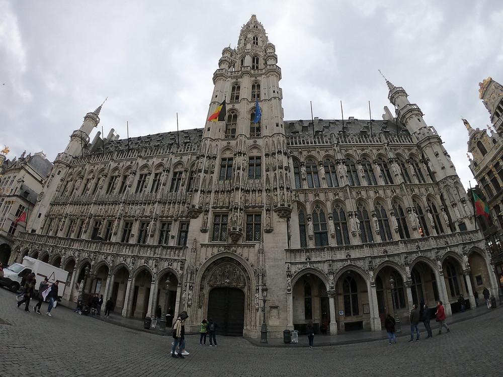Grand Place em Bruxelas. Grand Place Brussels / Bruxelles.