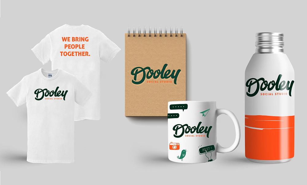 dooley social studio, rebrand
