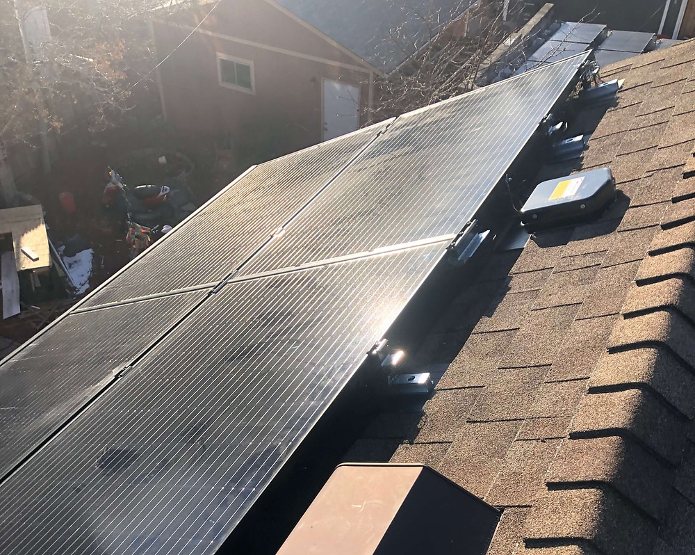 Solar Panels Installed in Colorado by Denver Solar Company Apollo Energy