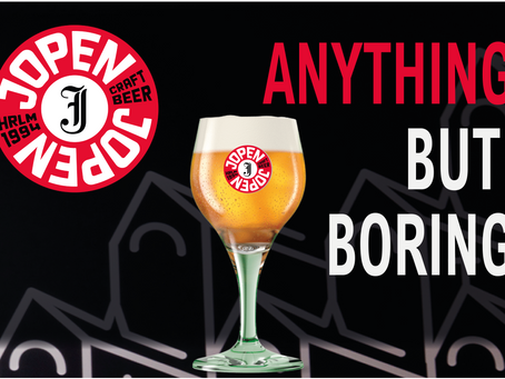 JOPEN CRAFT DIVE BEER: ANYTHING BUT BORING!