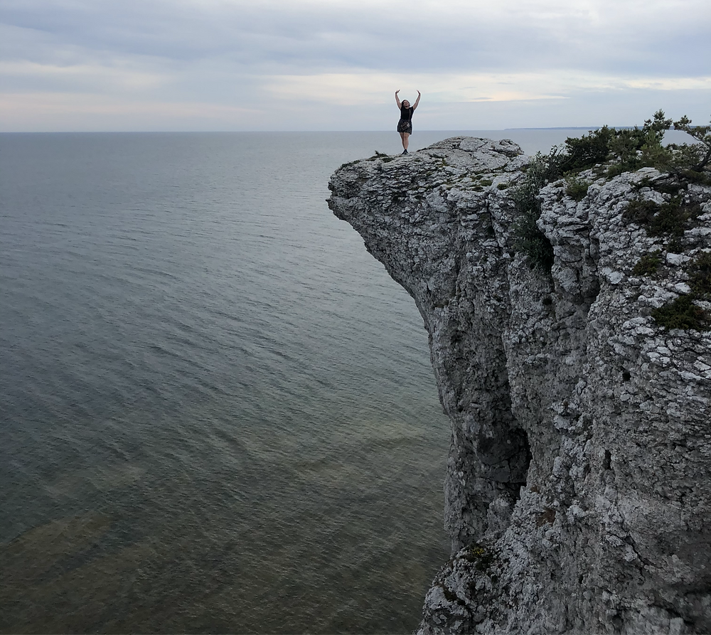Högklint cliff