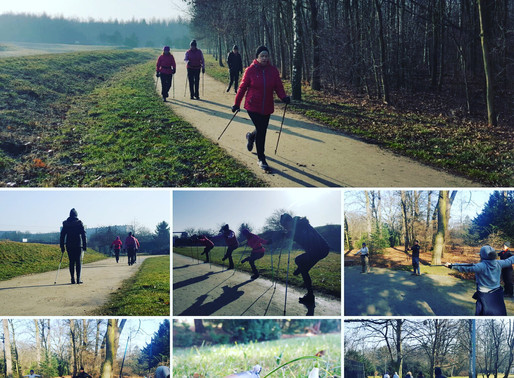 Wznawiamy treningi nordic walking