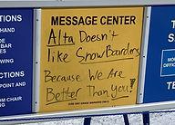 Skihad BCE: Alta vs. Snowbird