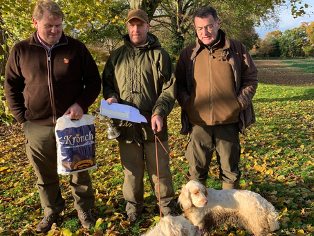 WCSS Field Trial Monday 11th November 2019