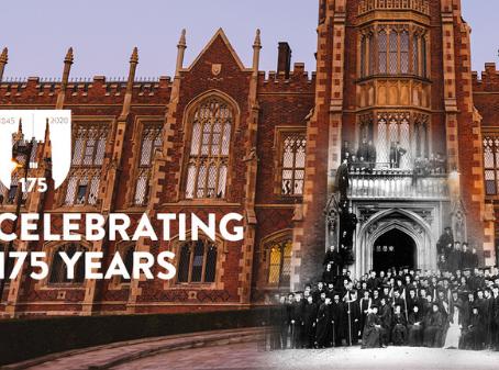 『2020年』貝爾法斯特女王大學特別的周年紀念