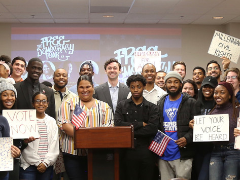 Free Democracy Tour Successfully Launches at Georgia State University