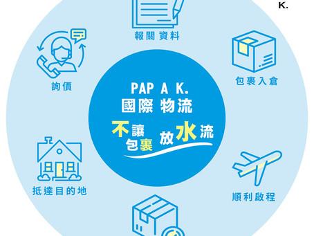 PAPA K.物流6大要點一目了然🆗