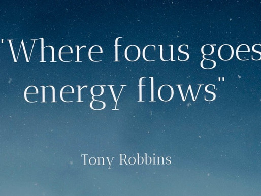 Where FOCUS goes ENERGY flows!