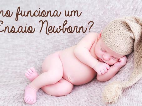 Como funciona um ensaio newborn?