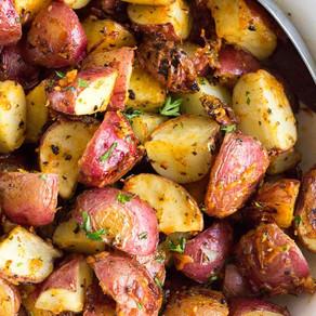 Garlic Parmesan Roasted Red Potatoes