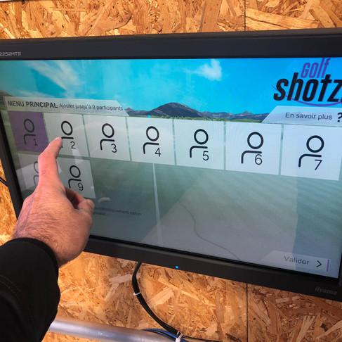 Le système Golf Shotz installé au golf du Fort