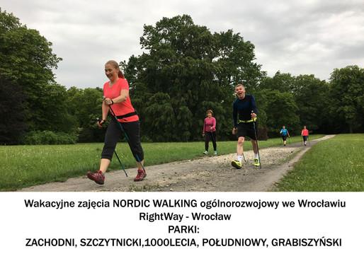 Wakacyjne zajęcia NORDIC WALKING