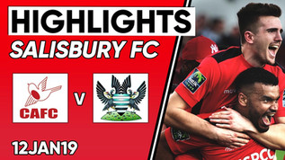 FA Trophy highlights vs Salisbury 12-01-18