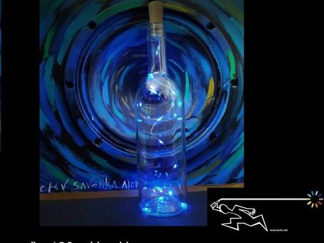 """צופן התקווה - """"בקבוק אורות התקווה"""" יצירה מעוררת תקווה של היוצרת אסיה"""