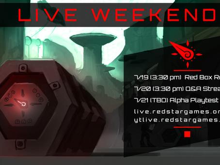 Weekend Livestream Schedule