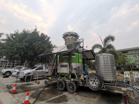 The Green Giant Project help pollutions in Chaing Rai, Thailand