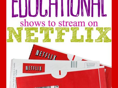 150+ EDUCATIONAL SHOWS ON NETFLIX