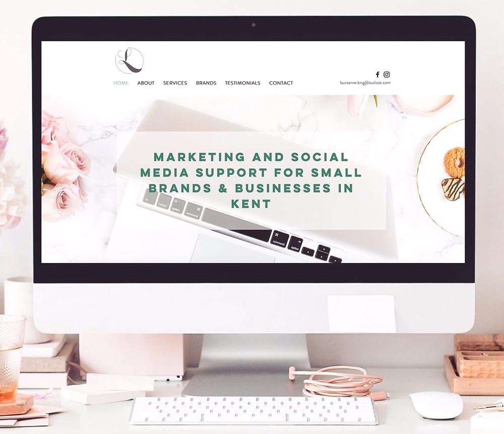 Elle Marketing Brand New Website
