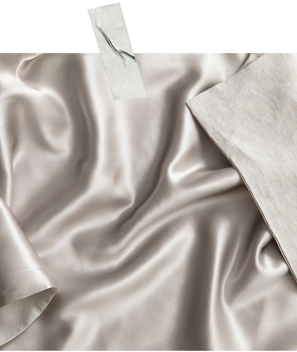 cultiver silk linen pillowcase