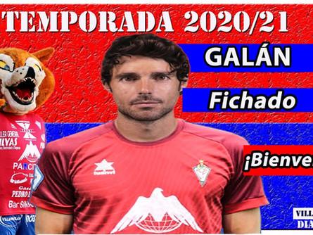 El trotamundos Galán es el centrocampista que necesitaba el CP Villarrobledo