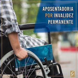 Aposentadoria por invalidez permanente