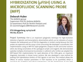 PhD public presentation by Deborah Huber