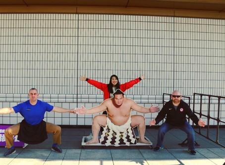 東京2020のオリンピック施設を視察。