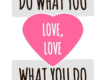 尋找自己的熱情和志趣,並努力去實踐它