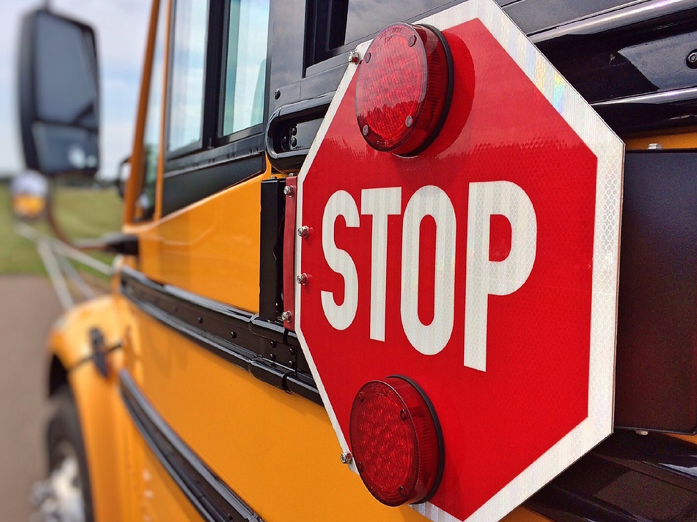 Drive Safely School Bus