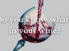 Do you know what's in your wine?