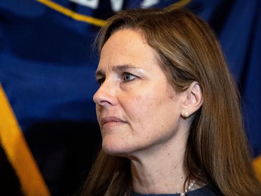Amy Barrett, Trump's Supreme Court pick meets senators in race to confirmation