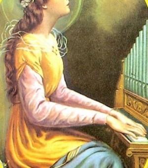 Santa Cecília Mártir e Padroeira dos Músicos