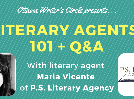Literary Agents 101 + Q&A with Maria Vicente