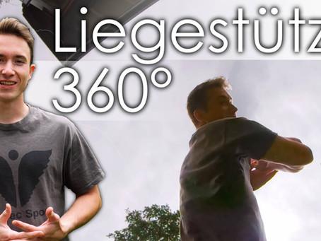 Liegestütze mit 360 Grad Drehung lernen - Tutorial