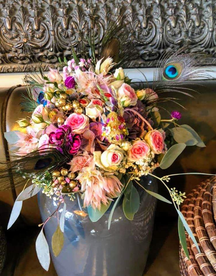 Hochzeit, TA OS Skybar Schorndorf Wedding Blumen