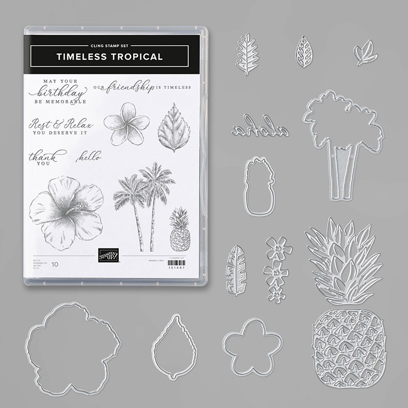 Timeless Tropical Stamp and Die Bundle from Stampin' Up!