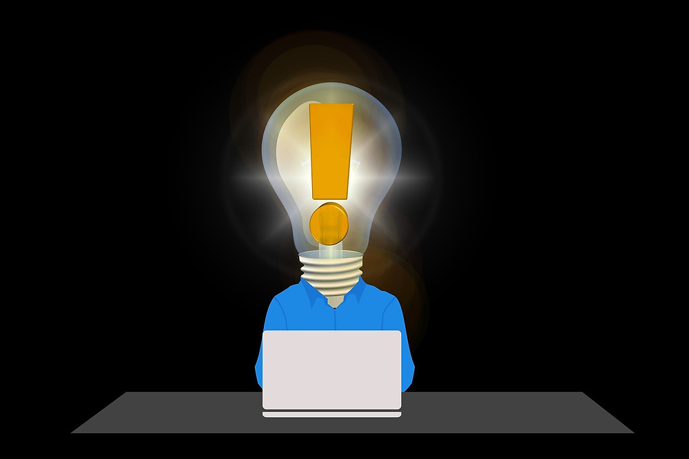 light bulb idea image